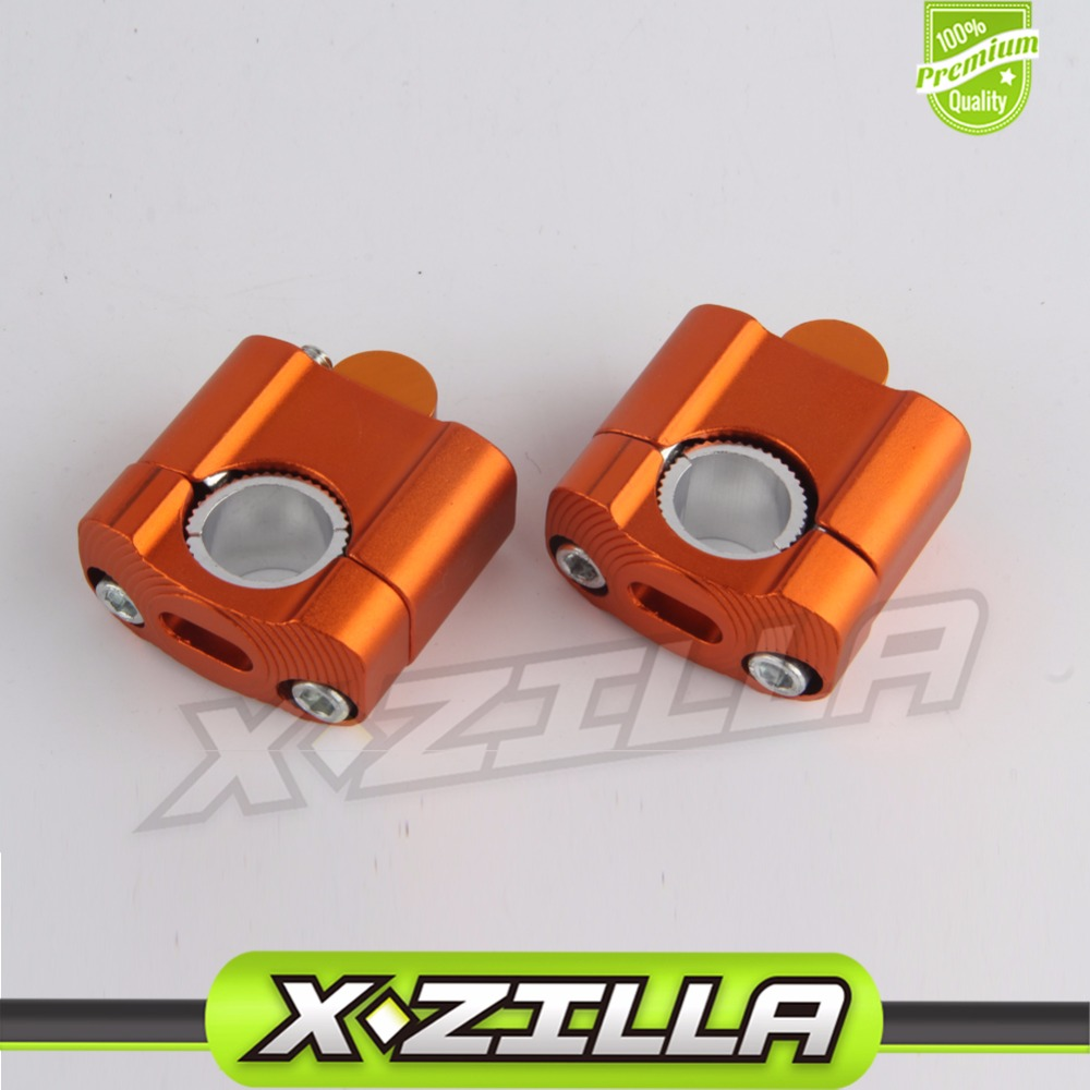 22mm 28mm Off Road motocicleta abrazaderas de barra Raiser manillar Barra de mango para 7/8