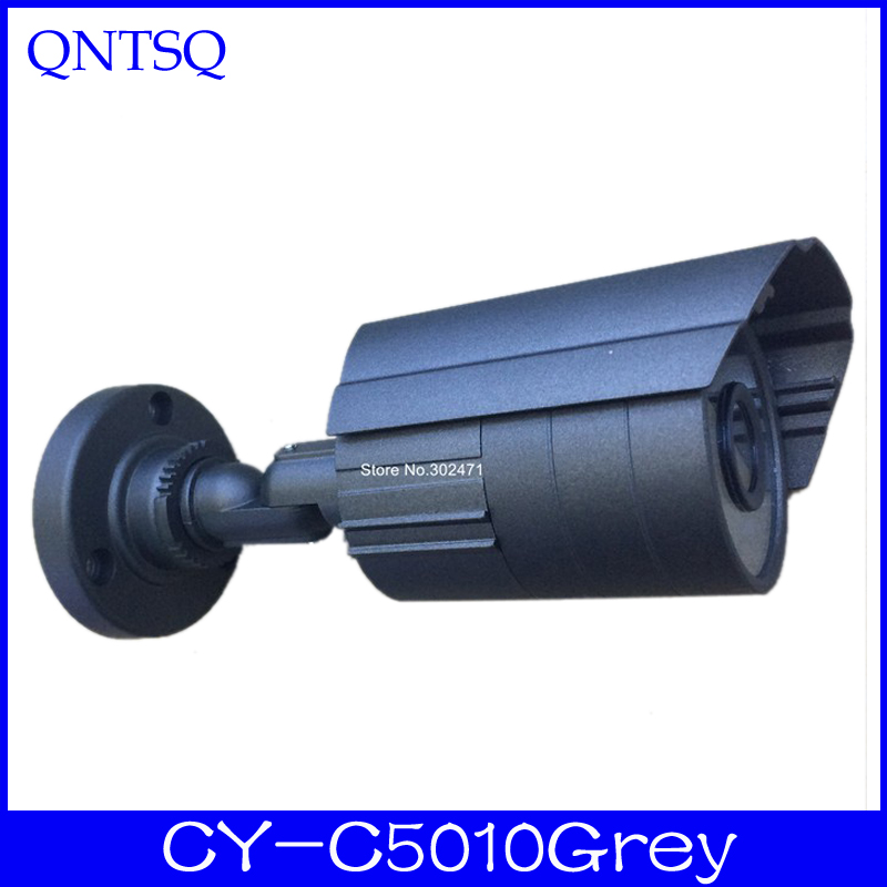 DIY CCTV Camera IR waterproof camera Metal Housing Cover.CY-C5010Grey diy cctv camera waterproof metal housing 90 cy hd90