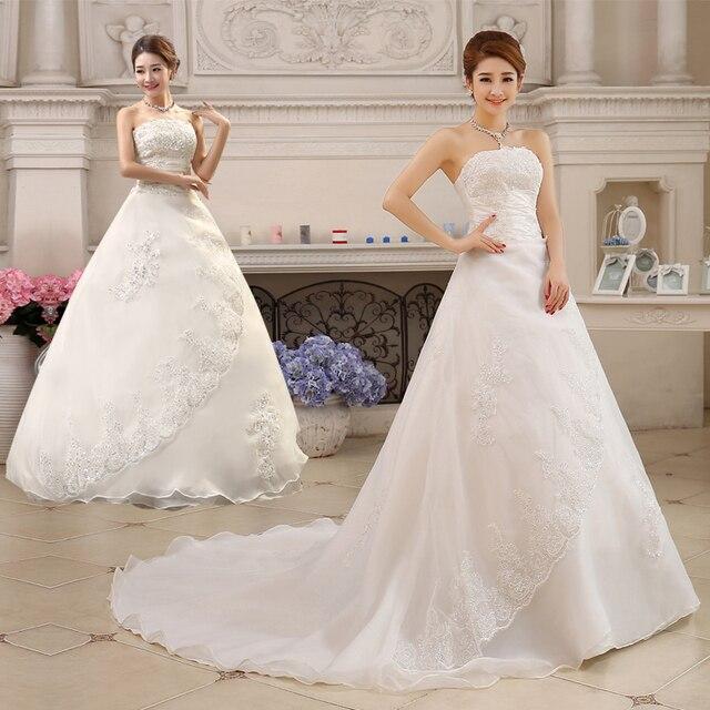 Vestido De Noiva Neues Design A linie Spitze Hochzeitskleid 2016 ...