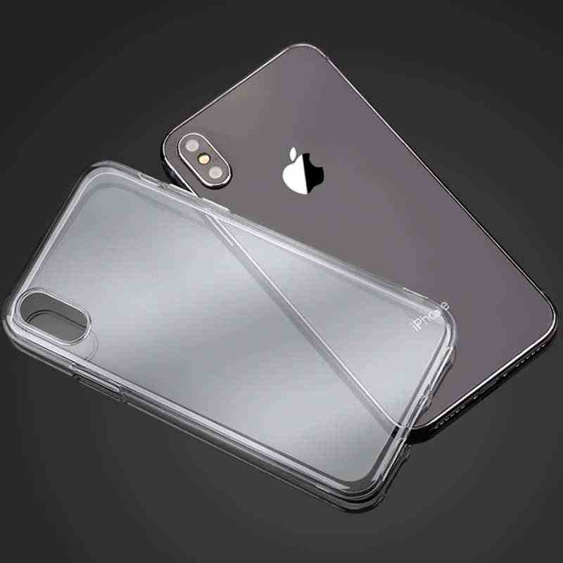 Ultra Thin Case For Apple iPhone X XS Max XR Cases Clear Soft TPU Cover For iPhone 6S 6 7 8 Plus 5 5s SE 4 S Phone Case Capa
