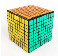 ShengShou 9x9x9 Magic Cube Professional PVC Stickers cobo Wholesale Cubo Magico Metallised Cubiks Juguetes Educativo Toys