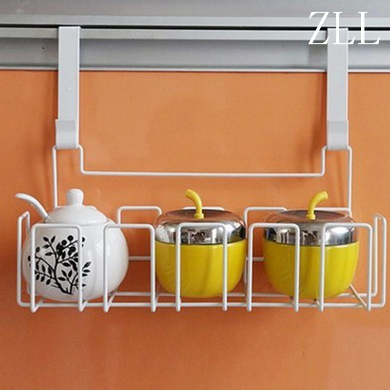 Creative Household Over Fridge Cupboard Door Storage Basket Hanging