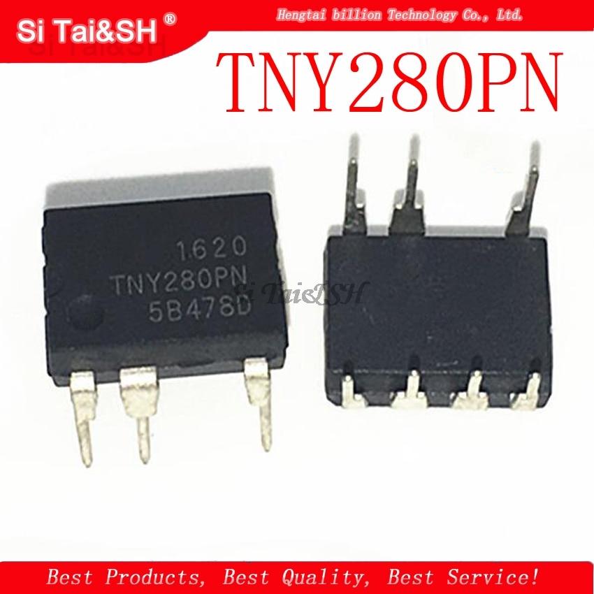 10pcs/lot TNY280PN DIP7 TNY280P DIP TNY280 New And Original IC