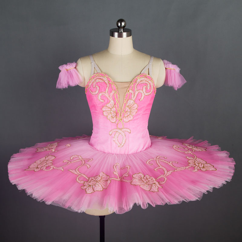 Dance Favourite New Pink Women & Girl Performance Customer Size Made Ballet Tutu Ballerina Dance tutu Classical pancake tutu