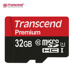 Transcend 90Mb/s Micro SD Card 32GB 64GB 16GB Memory Card Class10 U1 Flash TF Microsd Card microSD UHS-I for Smartphone