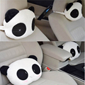 2PCS/Pair Lovely Panda Pattern Car Seat Neck Head Pillow Soft Back Cushion Interior Accessories For peugeot 2008
