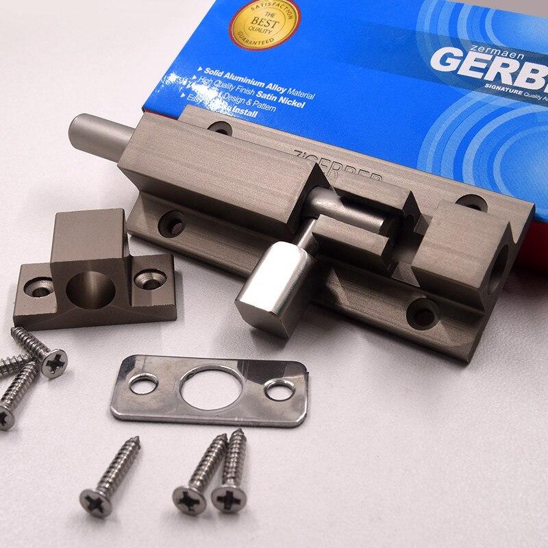 High Quality Stainless Steel Door Latch Sliding Lock