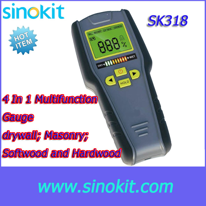 Detect moisture of 2 different materials Drywall/Masonry/Softwood and Hardwood  4 In Multifunction Gauge - SK318 purnima sareen sundeep kumar and rakesh singh molecular and pathological characterization of slow rusting in wheat
