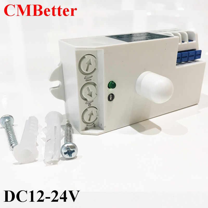 HF de sistema movimiento CMBetter Sensor Detector LED Luz 5 GHz microondas grados de Radar Techo interruptor de cuerpo de 8 360 luz movimiento OukiTXZP