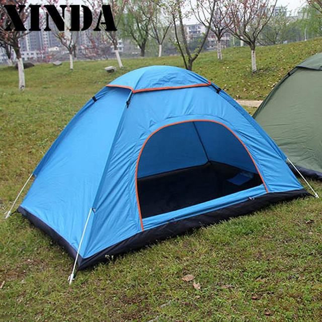 3-4 Person Tent Outdoor Quick Automatic Opening Tent C&ing 4 Seasons Waterproof Tent Outdoor & 3 4 Person Tent Outdoor Quick Automatic Opening Tent Camping 4 ...