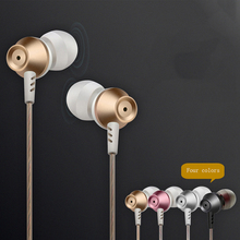Metal Noise Canceling Earphone Perfume Bass Headset Hands free with Mic for MP3 Earbud audifonos fone de ouvido