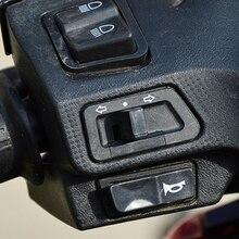 Электрический мотоциклетный диммер с четырьмя линейками, ультра-контроль, светильник для мотоцикла, Электромобиль, батарейный переключатель, переключатель лампы