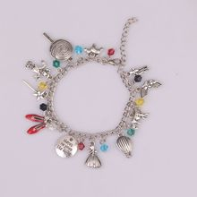 "Fairy Tale Movie Wizard of Oz Inspired Charm Bracelet ""There is No Place Like Home"" Bracelets for Women"