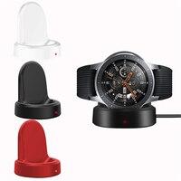 Smart Uhr Drahtlose Ladegerät für Samsung Galaxy Uhr 42 46mm Ladegerät Lade Basis für Galaxy Getriebe S2 S3 Ticwatch moto 360 1 2
