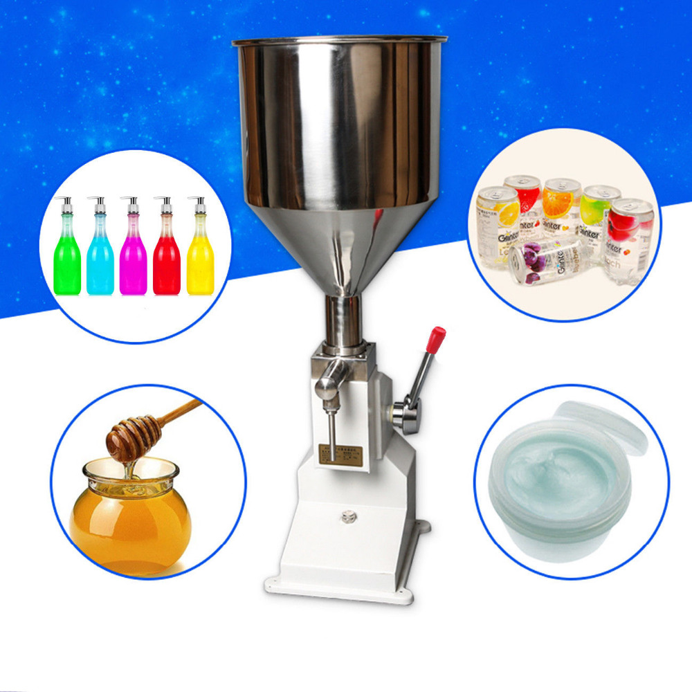 5-50ml Manual Liquid Filling Machine Paste Bottle Shampoo Oil Cosmetic Filler Water Liquids Filling Machine