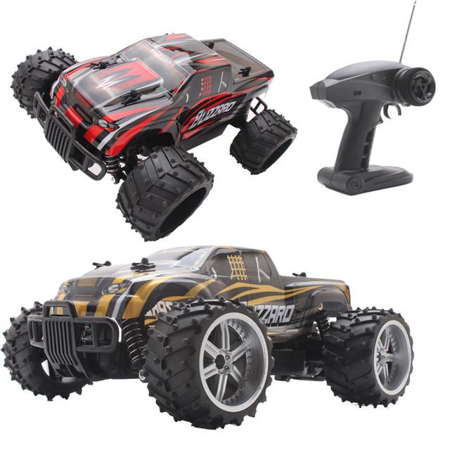 1:16 RC Coche Eléctrico Fuera de la Carretera de Alta Velocidad de alta Calidad modelo de coche de control remoto de regalo para niños toys envío libre al por mayor gratis