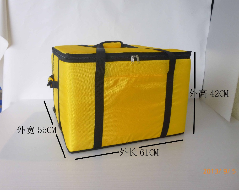 120 X-large 64*58*45cm insulation bag, food package delivery pizza delivery bag