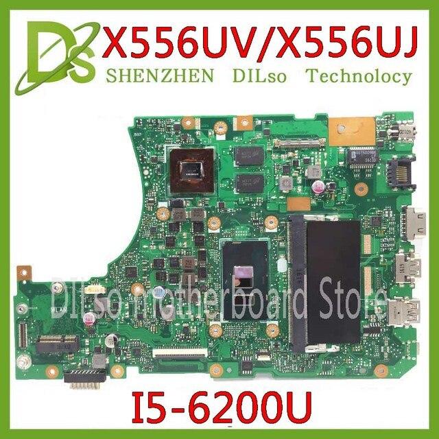 KEFU X556UJ X556UV cho ASUS X556UJ X556UV X556UF X556UR Laptop Bo mạch chủ DDR4 I5-6200U GT920/GT930/GT940 Thử Nghiệm