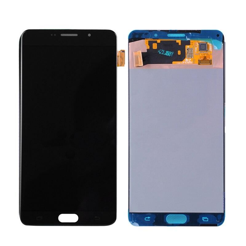 6,0 AMOLED для Samsung Galaxy A9 2016 A910 A9100 A910F сборка ЖК диспоея с дискретизатором сенсорного экрана Бесплатная доставка