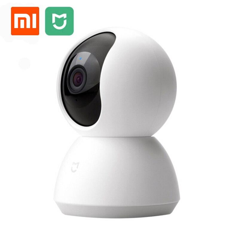Xiaomi Mijia caméra IP PTZ 1080 P caméra panoramique HD 360 degrés Vision nocturne Webcam caméra IP caméra caméscope pour la maison intelligente-in Télécommande connectée from Electronique    1