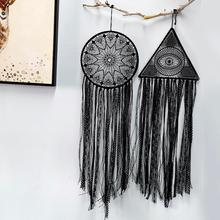 black  dream catcher nordic large room decoration Romantic Hanging Decoration gift for women men