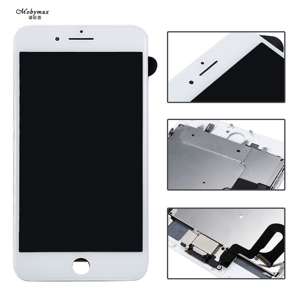 Full LCD Display For IPhone 6 7LCD Display Touch Screen Front Glass Digitizer Glass Assembly ( Camera Frame Home Button Speaker)