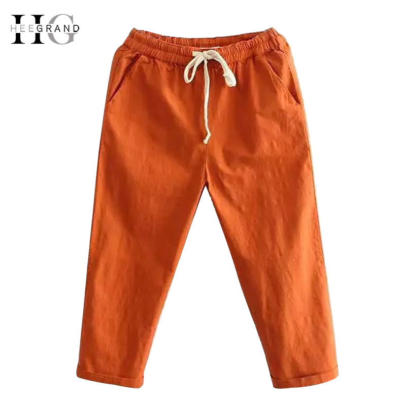 HEE GRAND Women's Candy Pants 2018 Soft Harem Jeanss