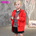 2017 Special Offer Full Casual Worsted New Spring Girls Jacket Fashionable Color Hooded Coat In Cotton Girl Zebra Printing