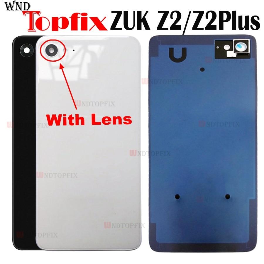 Оригинальная задняя крышка для Lenovo ZUK Z2, стеклянная крышка для камеры Z2 PLUS, крышка аккумулятора, стекло + клей для Lenovo ZUK Z2, крышка аккумулятор...