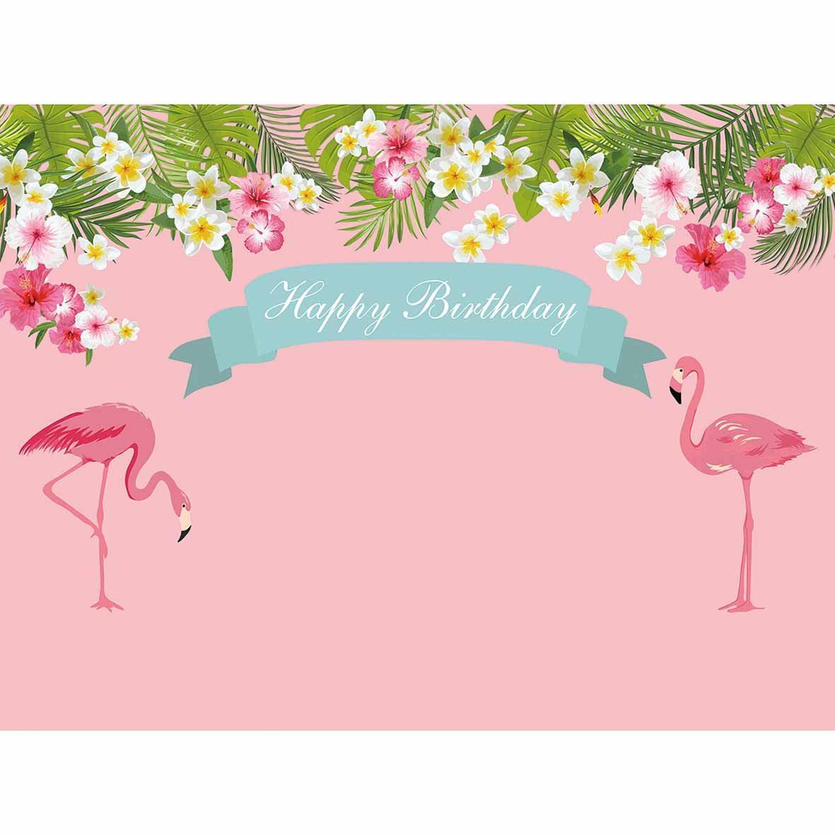 Aliexpress Buy Allenjoy Photo Backdrops Pink Flamingo Flower