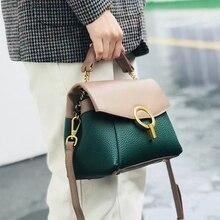 INS Fashion Tote Handbag Luxury Handbags Women Bags Designer Genuine Leather Crossbody Bags For Women Messenger Bag sac main недорого