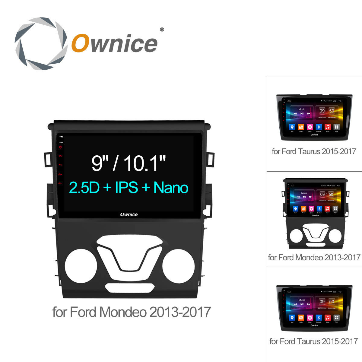 Ownice C500+ Android 6.0 Octa Core HD Car radio player GPS navi dvd for Ford Mondeo Taurus 2013 2014 2015 2016 2017 4G LTE 32GB
