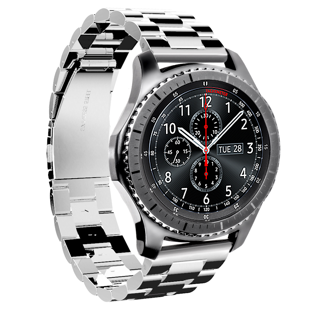 2017 new hoco 316l stainless steel strap bracelet for samsung galaxy gear s3 classic band for