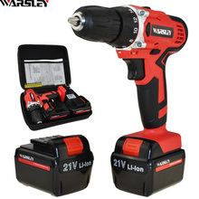 Drill Screwdriver Cordless Power-Tools Electric Mini 21v New-Style