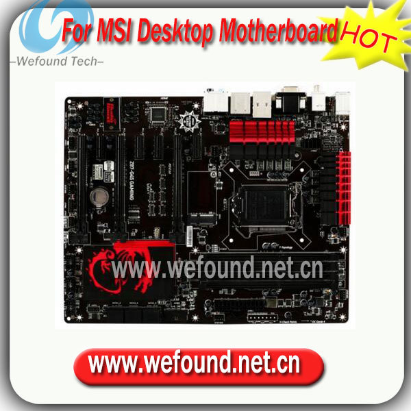 100% de trabalho desktop motherboard para msi z87-g45 gaming motherboard chipset z87 hdmi sata 6 gb/s usb 3.0 atx meia de trabalho perfeitamente