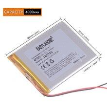 """3,7 V 4000 mah """" Планшетный аккумулятор на семь дюймов ниже солнца M70 486790 p 3,7 V 4000 mah батареи для мобильных планшетов"""