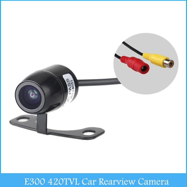 E300 16MM Mini Wide Angle Night Vision CMOS CCD Car Rear View Camera Reverse Backup parking Camera Monitor waterproof YA080-SZ