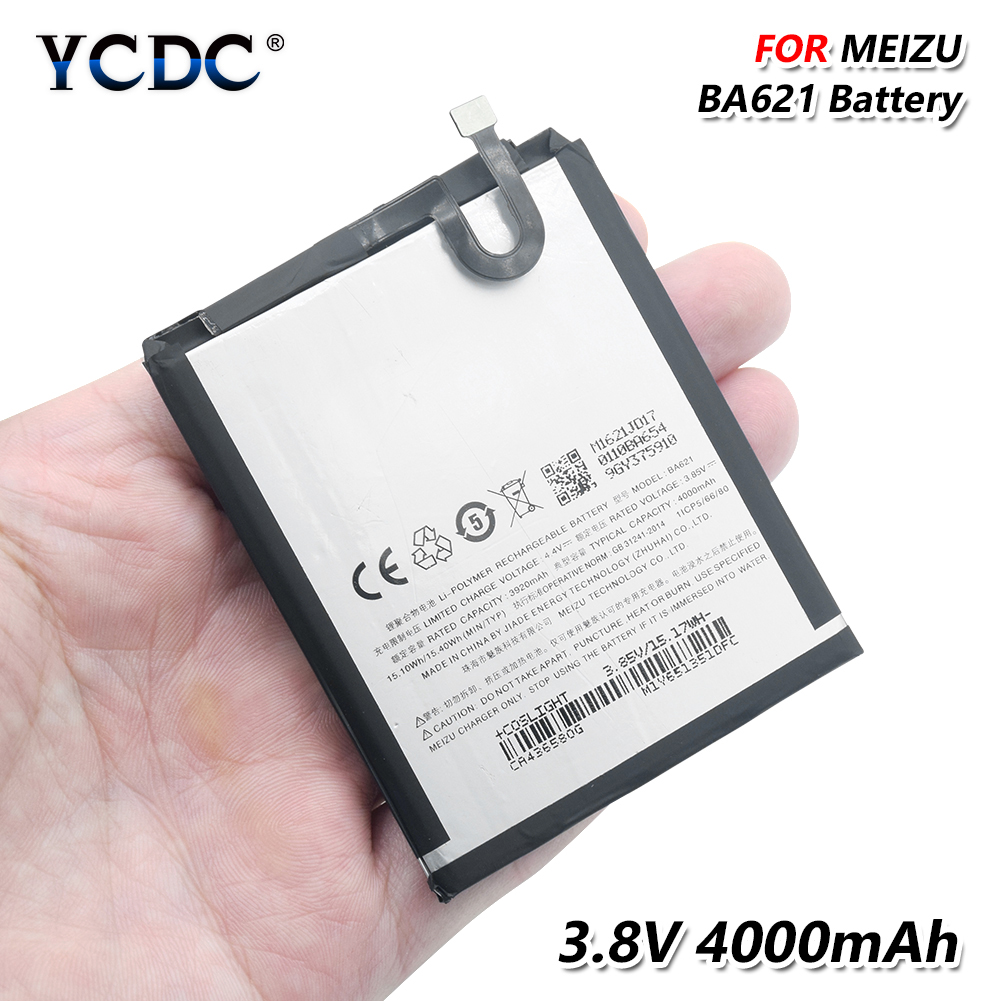 Cellphones & Telecommunications Ba621 Batterie For Meizu Note 5 Battery Meilan Note5 M5 Bateria Batterij Accumulator 4000mah+tools