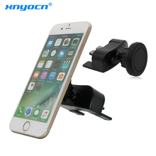 Xnyocn Universal Magnetic Holder Two Use Strong Magnet Car Air Vent CD Slot Stand Holder for Iphone 8 X Mobile Phone Accessories