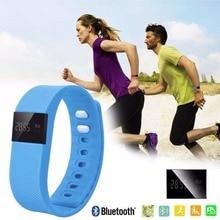 Бесплатная Доставка TW64 Bluetooth SmartWatches Braclet Спорта Запястье FitnessTracker Шагомер Фитнес-Часы