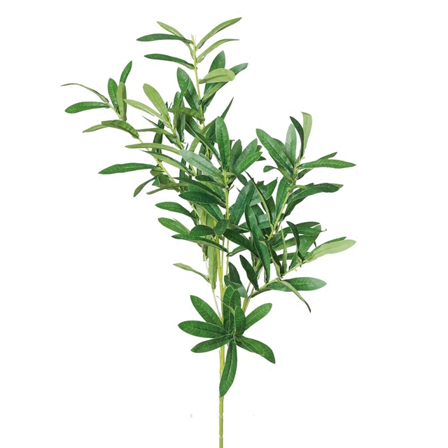 New Artificial European Olive Tree Branches With Olive Leaves For