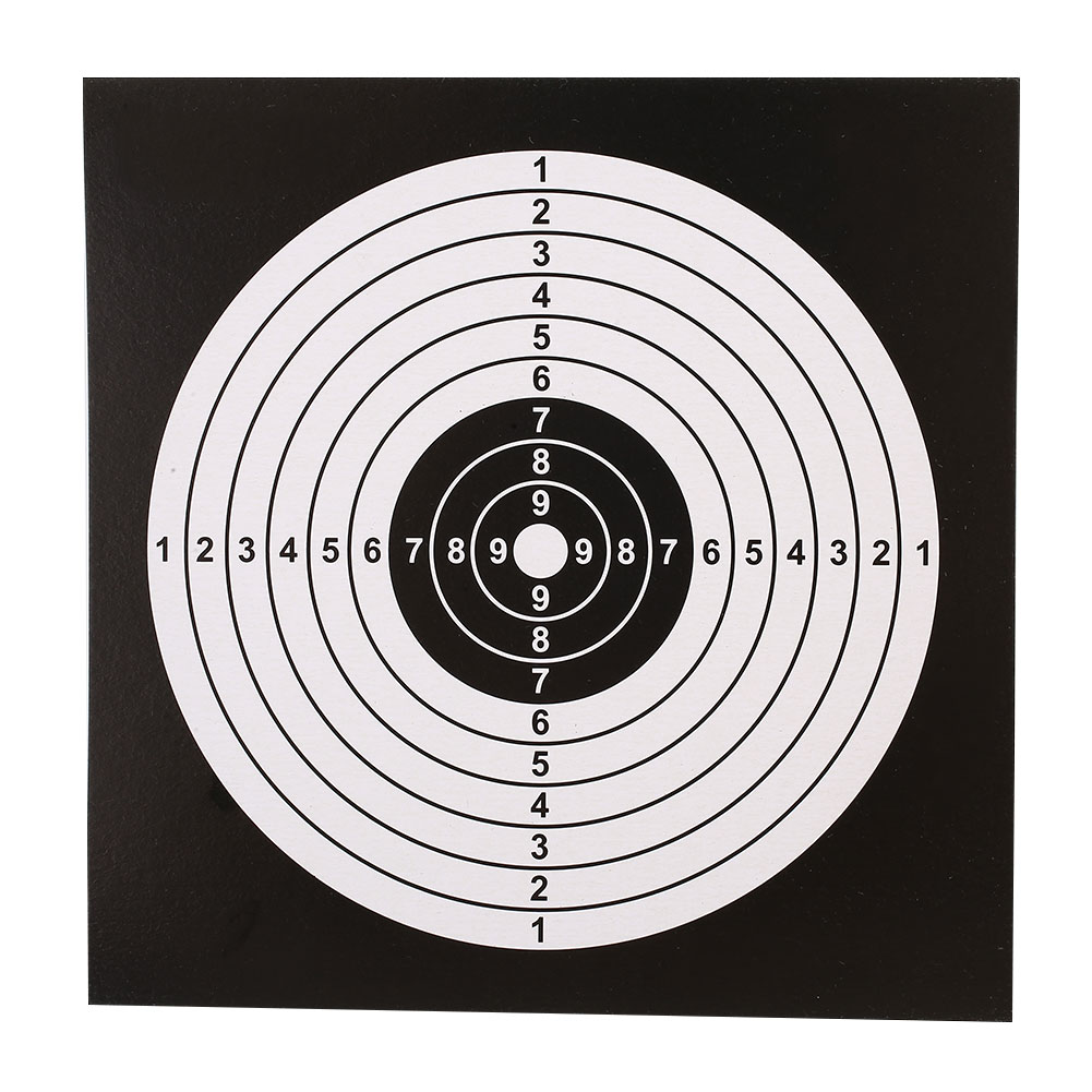 Sheet Professional Shooting Target Paper Durable Shooting Paper Archery Targets 100PCS/Set Target Rifle 14X14CM Dropshipping