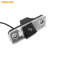 FEELDO 1PC specjalna kamera samochodowa tylna bezpieczeństwa dla Hyundai Santa Fe/Azera/Kia Carens kamera parkowania # FD 4530 w Kamery pojazdowe od Samochody i motocykle na