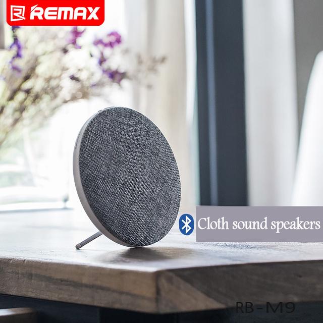 O volume alto falante blurtooth original remax v4.1 sem fio portátil bluetooth speaker music player alto-falantes de alta fidelidade de som pano