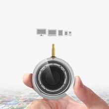 Sıcak F10 taşınabilir HIFI 3D Surround 3.5mm Aux ses jakı Mini kablosuz güçlü kristal hoparlör akıllı telefon Tablet için
