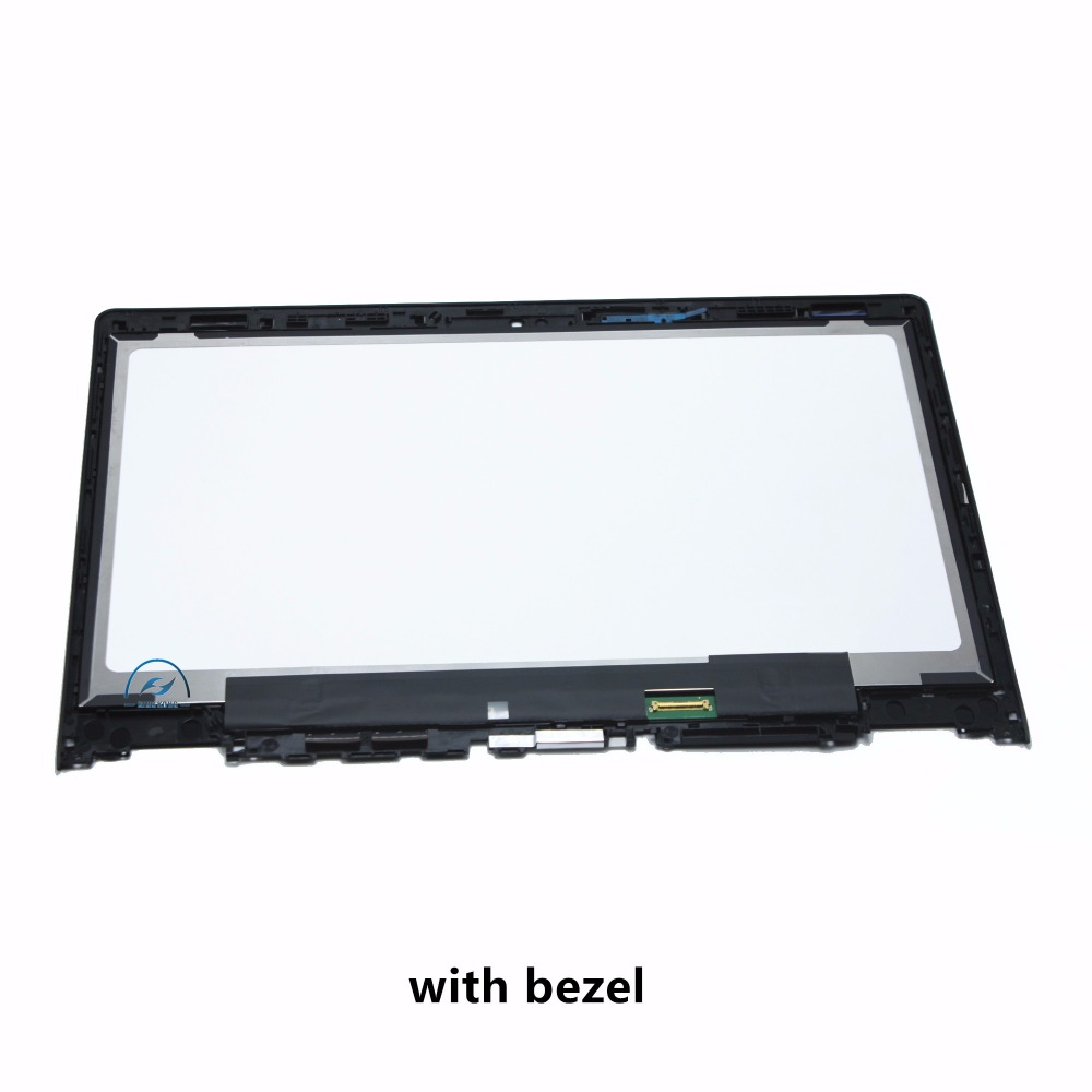 14'' Full IPS LCD Display Panel Touch Digitizer Glass Screen Assembly with Bezel / Frame For Lenovo Yoga 3 14 80JH 1920x1080 11 6 lcd and touch screen with frame for teclast tbook 16s full lcd display panel touch screen digitizer assembly free shipping