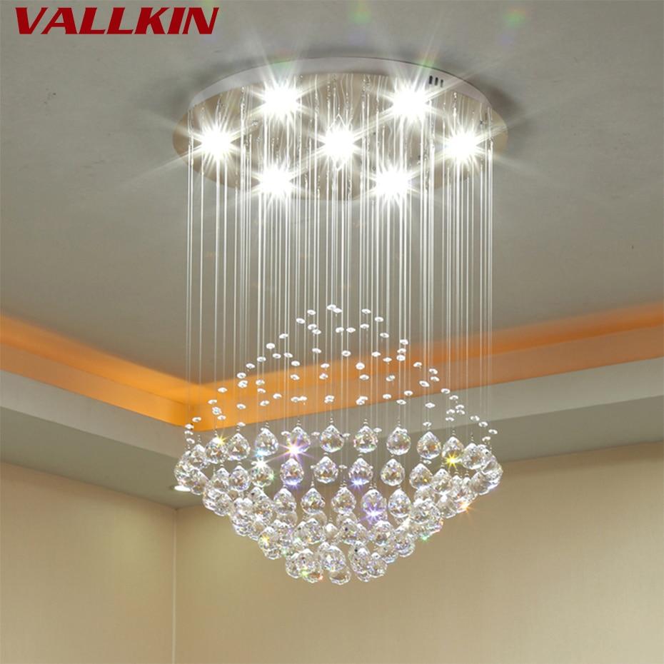 Modern Led Crystal Chandeliers Lighting