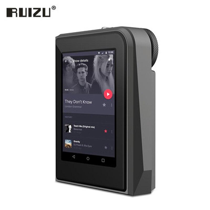 2017 Original RUIZU A50 HD Lossless Mini Sport MP3 Player With 2.5 Inch Screen Hifi MP3 Music Player Support 128G TF Card/DSD25
