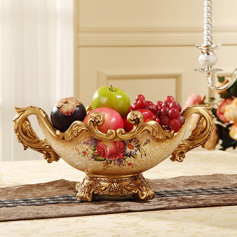 European style wedding gift package resin decoration crafts creative retro Decor compote living room Home Furnishing moveEuropean style wedding gift package resin decoration crafts creative retro Decor compote living room Home Furnishing move