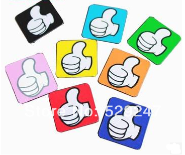 Magnetic materials 10pcslot Wholesale 40x40mm magnetic sticker,Fridge magnets Magnetic Whiteboard stickers, Free Shippping